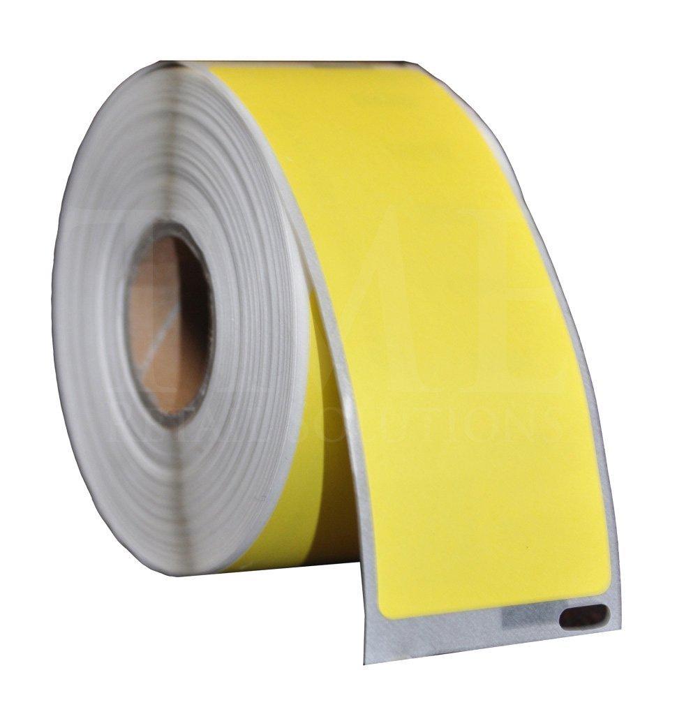 1 x Coloured Dymo Sieko 99012 Compatible Address Label Rolls - 36mm x 89mm - for All LabelWriter 4XL 450 400 330 320 310 Turbo Sieko SLP 430 420 240 220 SLP Pro Turbo (260 Labels/Roll) Yellow - MAILERPRO® Range (Yellow)