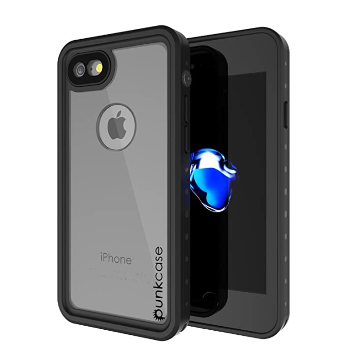 the latest a0770 53d8c iPhone 8 Waterproof Case, Punkcase [StudStar Series] [Slim Fit] [IP68  Certified] [Shockproof] [Dirtproof] [Snowproof] Universal Armor Cover for  Apple ...