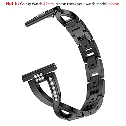 Amazon.com: Correa de repuesto para Samsung Galaxy Watch de ...