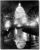 US Capitol Building Washington D.C. 1920 8x10 Silver Halide Photo Print
