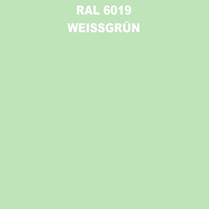 1 Spraydose 400ml Autolack Glänzend Ral 6019 Weissgrün Auto