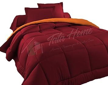 Costo Lavaggio Piumone Matrimoniale.Tata Home Judit Trapunta Tinta Unita Duble Face Invernale
