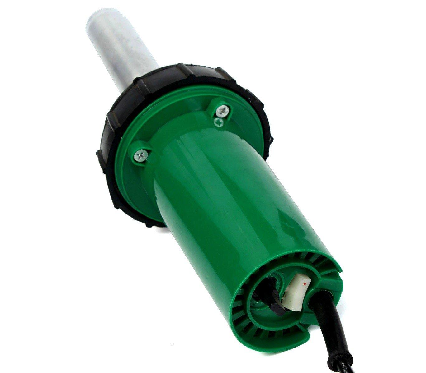 2993 Pistolet /à air chaud pour pi/èces plastique et r/ésine 1500W accessoires et rouleaux
