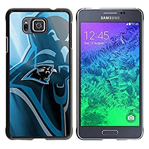 LOVE FOR Samsung ALPHA G850 Panther Sports Team Personalized Design Custom DIY Case Cover