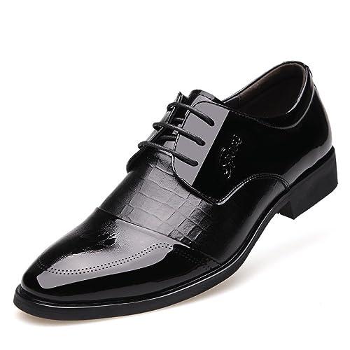 Zapatos De Cuero Reales para Hombres Trajes De Negocios ...