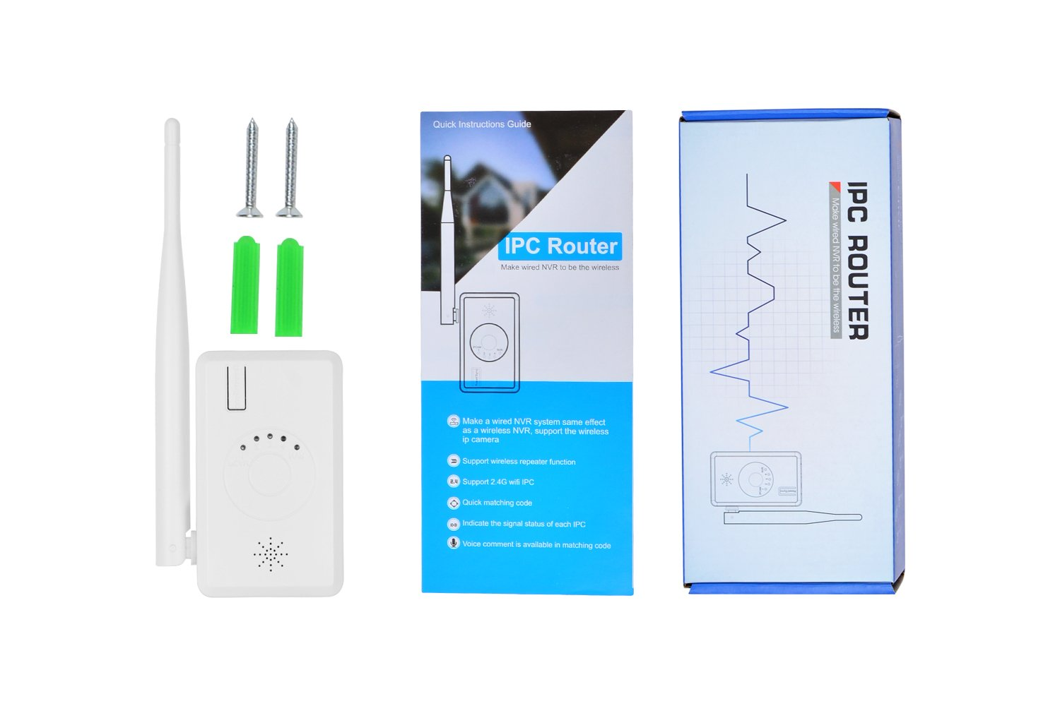WiFi Range Extender for SMONET Wireless Security Camera System