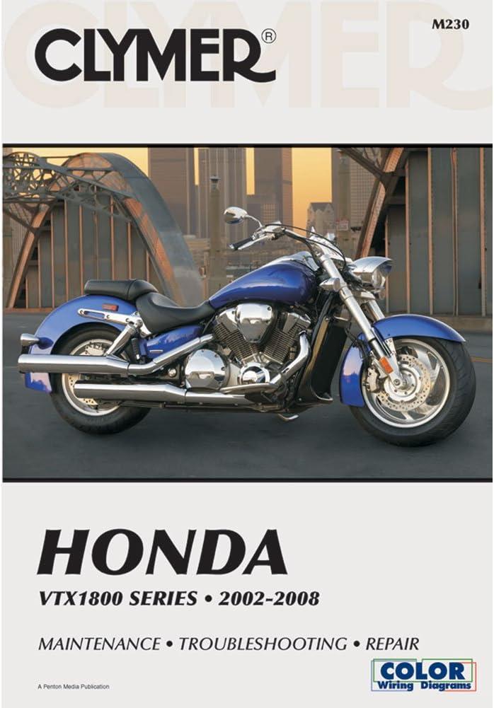 Amazon.com: CLYMER REPAIR/SERVICE MANUAL HONDA VTX1800 02-08: Manufacturer:  AutomotiveAmazon.com