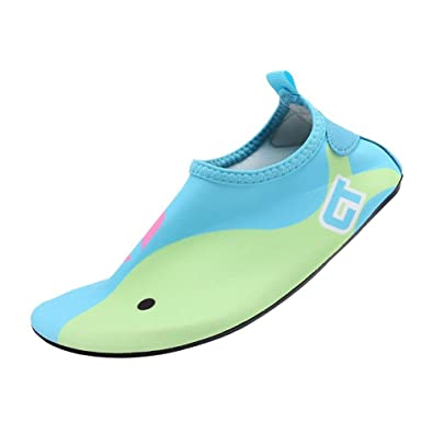 d6f1b6c22e Eagsouni Chaussures de Plage et Piscine Chaussure Aquatique Sport D'eau  Chausson Water Shoes