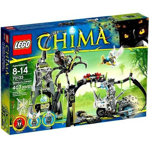 Lego Chima Spinlyns Cavern 70133