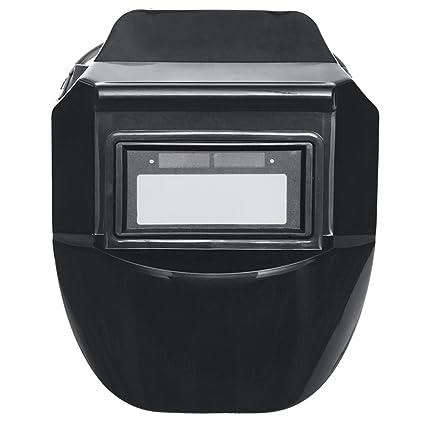 MASUNN 4 Tipos Solar Auto Oscurecimiento Ojos Protector Soldadura Máscara Casco Solar Auto Oscurecimiento Soldadura Casco