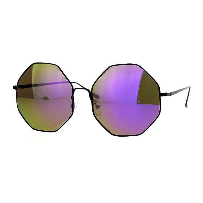 Amazon.com: Para mujer New Fashion anteojos de sol forma ...