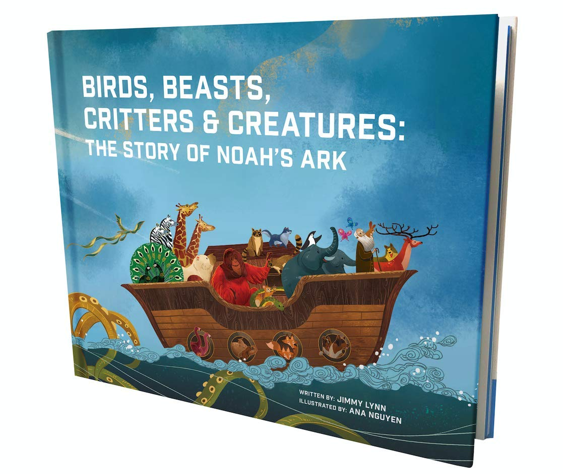 Birds, Beasts, Critters & Creatures: The Story of Noah's Ark – an Illustrated Version of How Noah Saved All The Animals from The Great Flood for Boys & Girls