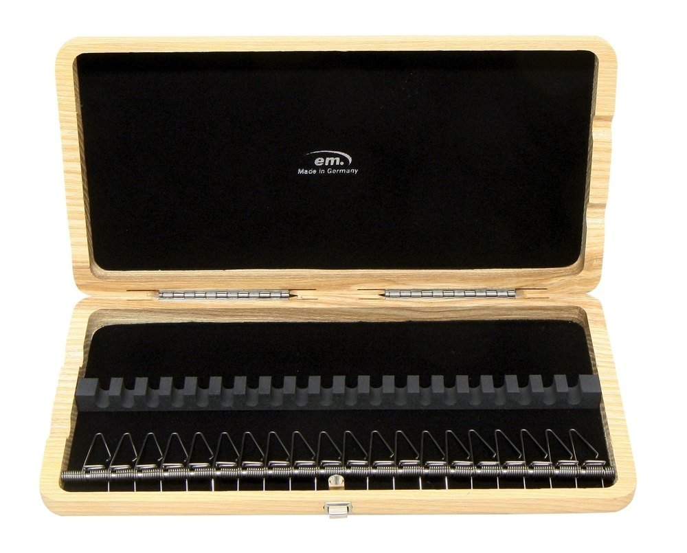 Gewa 751047 Oboe Case for 20 Reeds - Natural lacquered