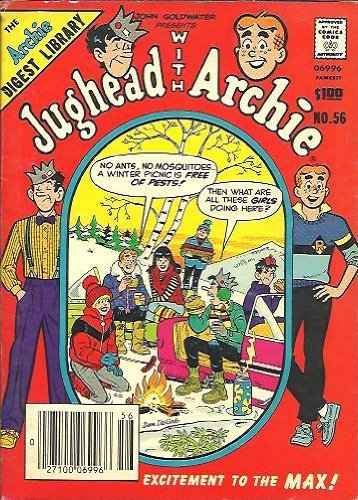 JUGHEAD WITH ARCHIE - The Archie Digest Library 56 - May 1983