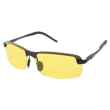 Sonnenbrille Männer fahren Anti-Blend Anti-UV polarisierte Licht Sonnenbrille UV400 bewertet ( farbe : Gelb ) gdBA1Ne