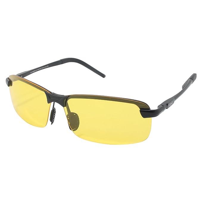 LZXC Día del Hombre Visión Nocturna Gafas de Sol de Conducción Polarizadas Gafas de Deportes al