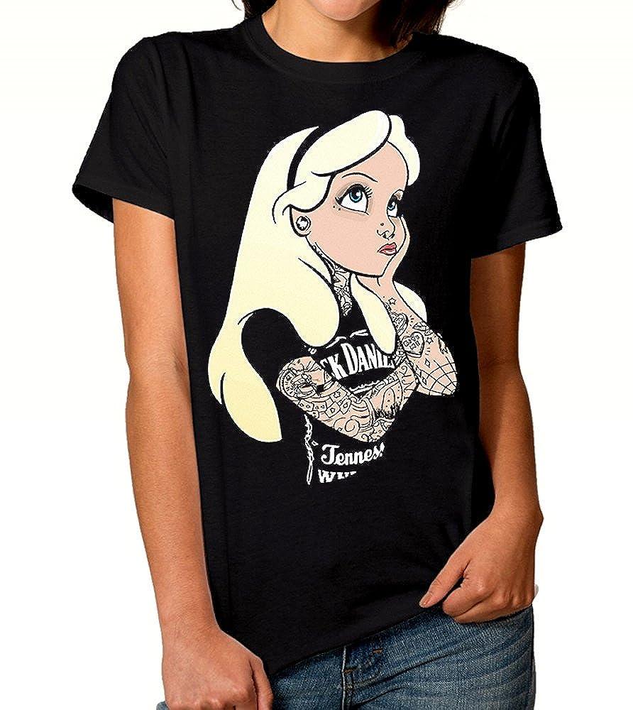 Amazon.com: Camiseta de Alicia en el país de las maravillas ...