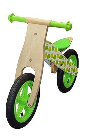 1c23241f3ad jumini ® Children's Wooden Balance Bike - Running Bike - First Bike -  Training Bike -
