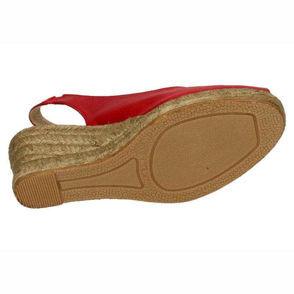 TORRES 5018 Alpargatas Rojas Mujer Alpargatas: Amazon.es: Zapatos y complementos
