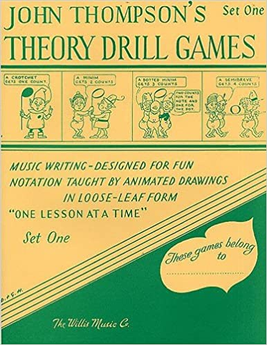 Book Theory Drill Games - Set One