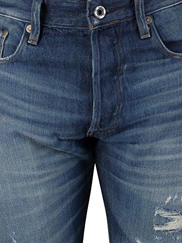 Jeans Tapered Raw Uomo star Blu G zwA4FqW