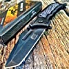 SPRING ASSISTED G`STORE OPEN Tactical Blade Folding POCKET KNIFE Wood Steampunk G 4