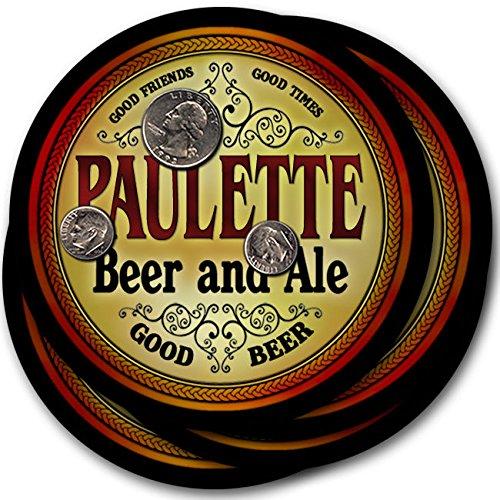 Pauletteビール& Ale – 4パックドリンクコースター   B003QXKYWW