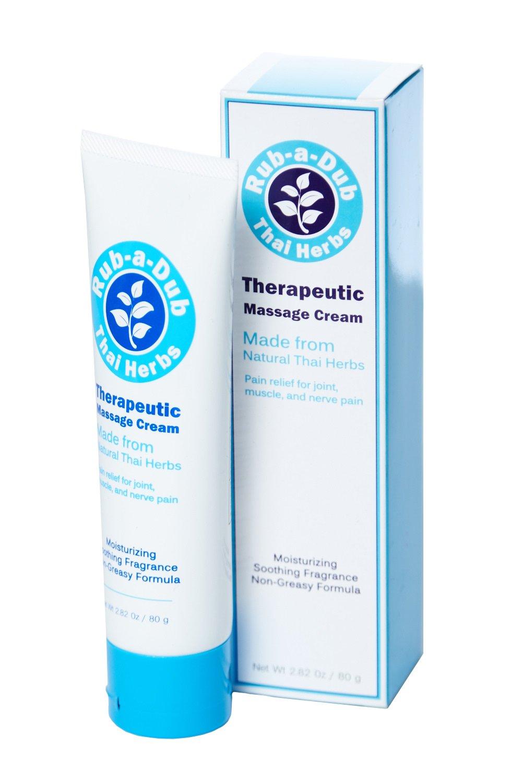 Rub-A-Dub Natural Thai Herbs Therapeutic Massage Cream (One Size)