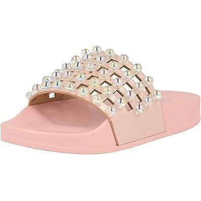 Lelli Kelly Vittoria White Synthetic Infant Slides Sandals