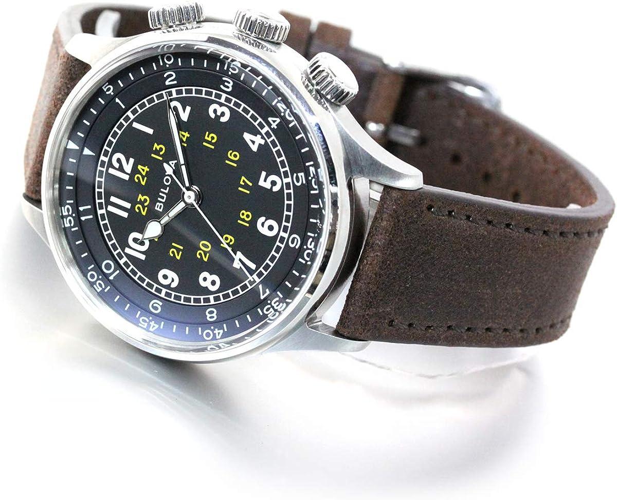 Bulova 96A245 Relojes de Aviador Relojes Automáticos Relojes Mecánicos