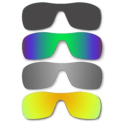 Amazon.com: 4 par de lentes polarizadas para Oakley Antix ...