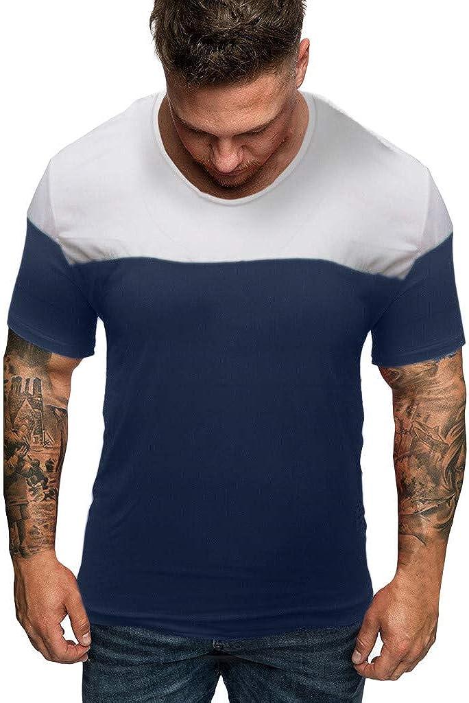 Camiseta para Hombre de Verano, de Moda, Informal, de algodón y ...
