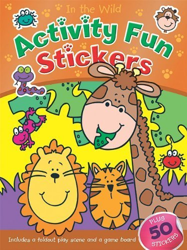 Read Online In the Wild Activity Fun Stickers (Books in Action) by Brenda Apsley (2011-06-15) PDF