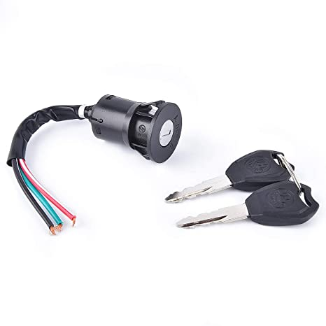 3Set Electric Door Lock 4-Wire Ignition Switch With Keys For 168F//170F//GX160//GX2