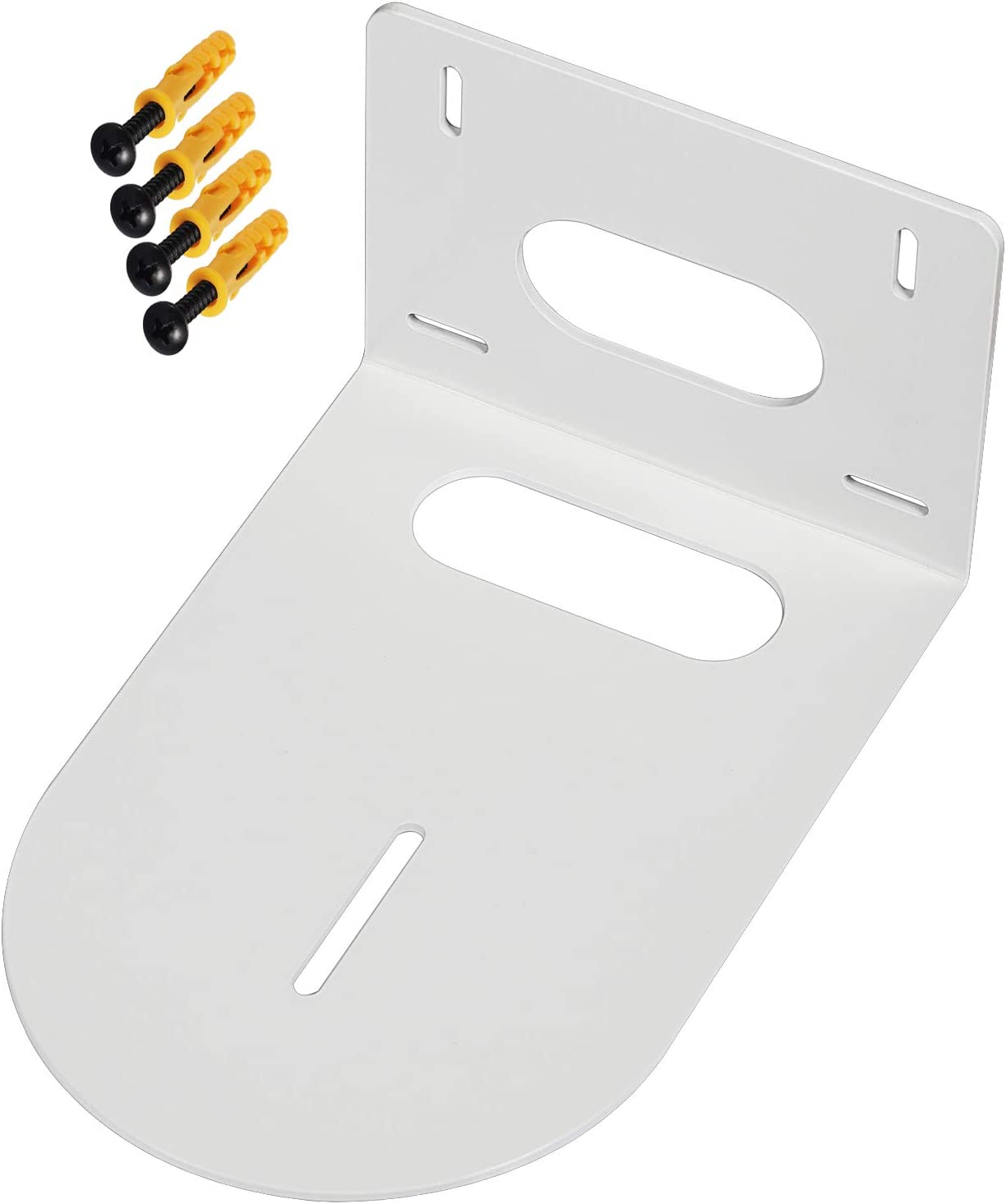 White Small Universal Wall Mount Bracket for Select Cameras