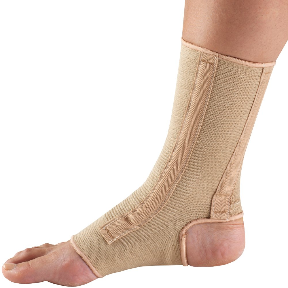 OTC Ankle Support X-Large Knit Elastic Spiral Stays