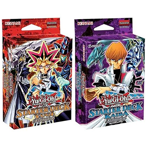 Sealed Starter Deck - Yu-Gi-Oh Starter Deck Yugi & Kaiba Reloaded Set of 2 Sealed