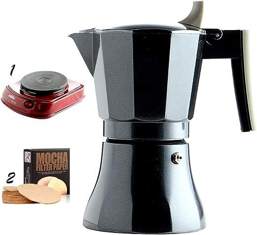 DWW Máquina de café Manual de Grasa Italiana para el consumidor y Comercial eléctrica cafetera Italiana concentrada (Color : 3): Amazon.es: Hogar