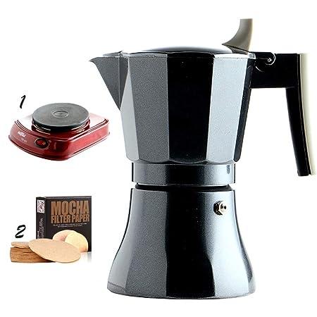 DWW Máquina de café Manual de Grasa Italiana para el consumidor y ...
