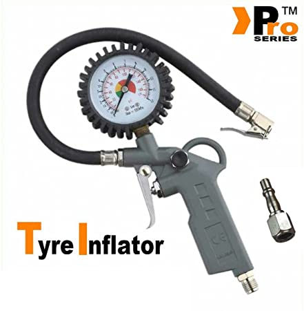 Silverline 400mm Air Tyre Inflator 675078
