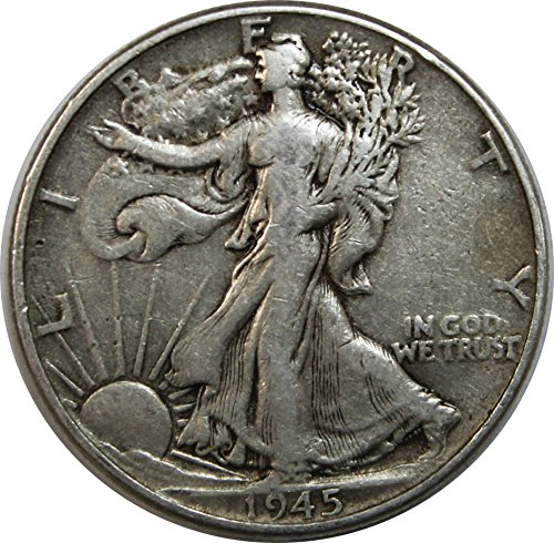 1945 P Walking Liberty Half Dollar 50c Very Fine