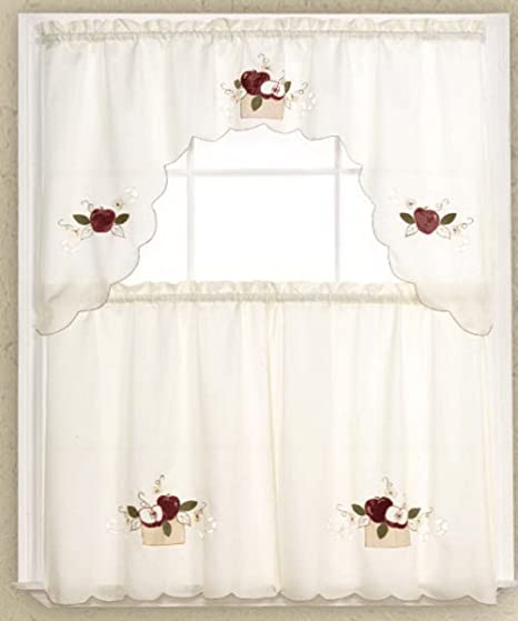 Apple Curtains For Kitchen Awesome Design Inspiration
