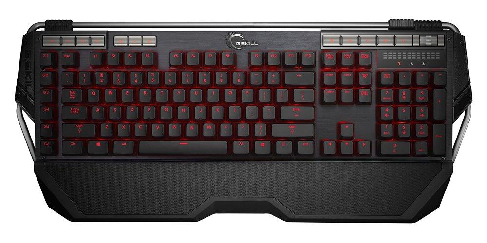 Teclado Mecanico : G.SKILL RIPJAWS KM780R MX Cherry MX Brown