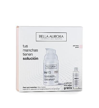 Bella Aurora Bio10 Anti-Manchas Piel Mixta-Grasa y Solución Micelar - 1 Pack