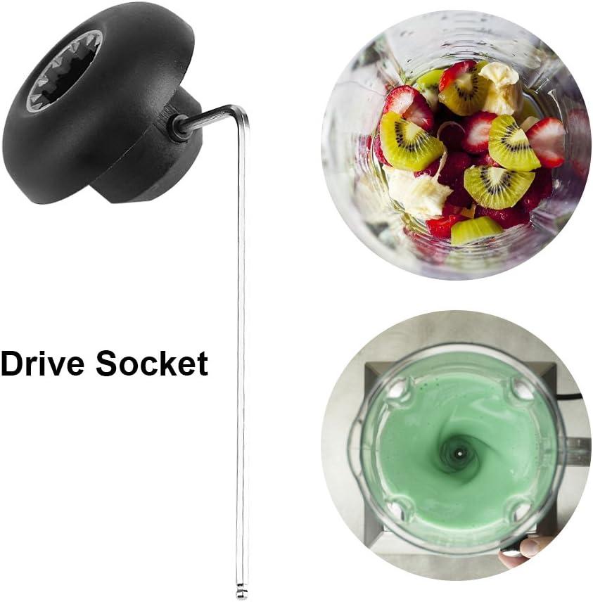 Ersatz-Antriebssockelsatz f/ür Vita-Mix Mixer Ersatz-Ersatzteilwerkzeug mit Inbusschl/üssel