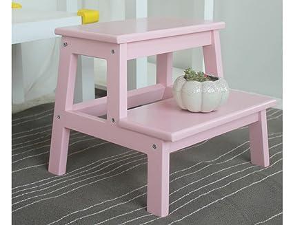 Sgabello per scale zcjb sgabello per bambini in legno massiccio