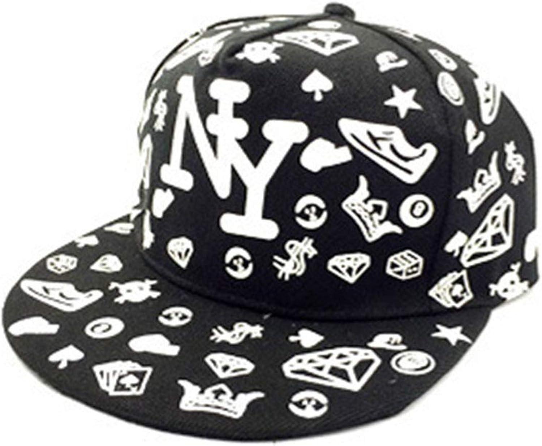 Green Glow Dark Caps Little Stars Hip Hop Baseball Cap Casual Luminous Caps Fitted Hats for Women Men