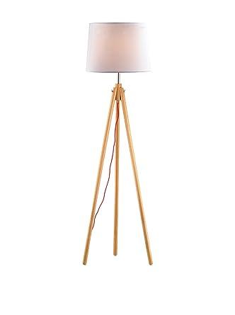 Ideal Lux York PT1 Lampada da Terra, Legno, Bianco: Amazon.it ...