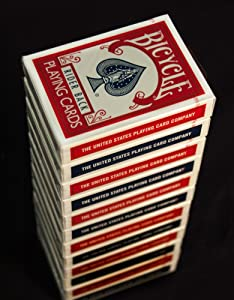 Bicycle Standard and Jumbo Playing Cards - Single Deck, 2 Pack, 4 Pack, 12 Pack - Poker, Rummy, Canasta, Pinochle, Euchre, Blackjack