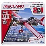 Meccano Boys 3 Models Set 2-in-1 Plane Building Kit